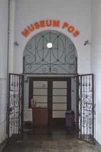 Pintu Utama Galery Museum Pos Indonesia