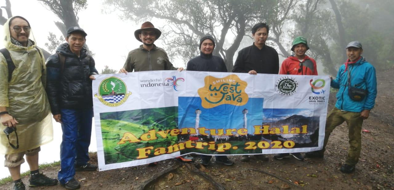 Adventure Halal Famtrip Salah Satu Unggulan Pariwisata Jawa Barat