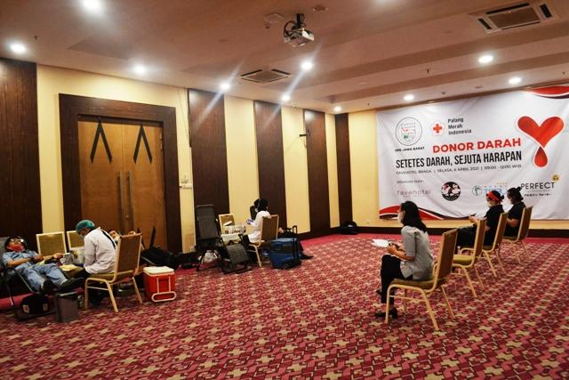 IHGMA DPD Jawa Barat Gelar Donor Darah