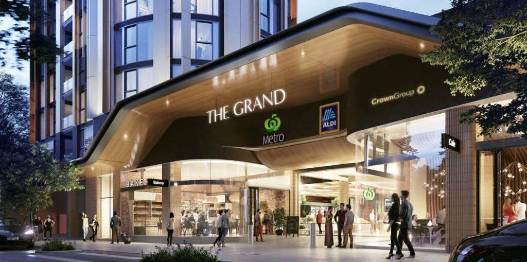 the grand pusat ritel dan hunian