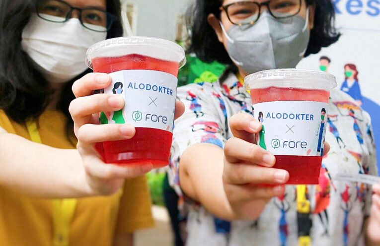 Alodokter & Fore Coffee