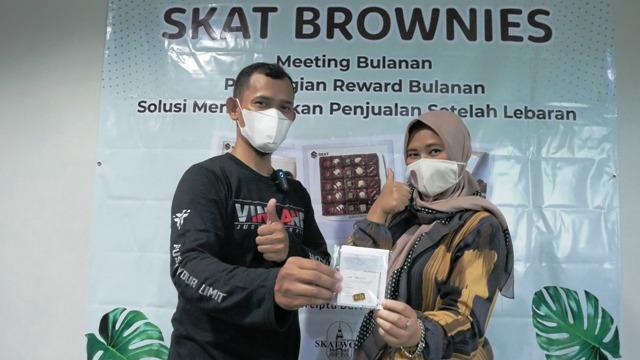 Halal Bihalal Skat Brownies