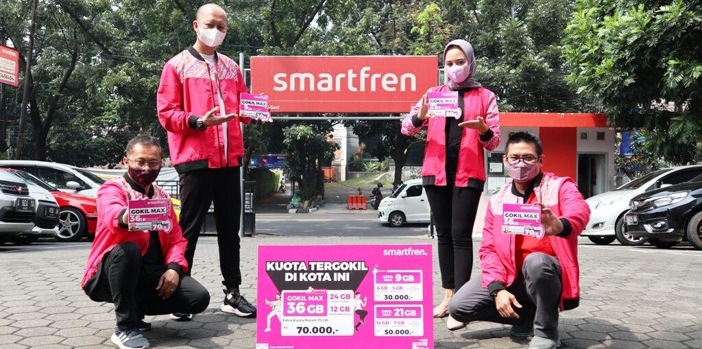 Smartfren GOKIL MAX, Beri Kuota Data Terbesar di Kotamu