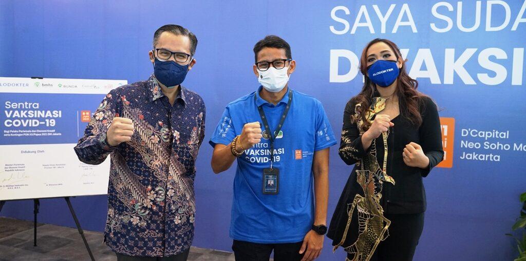 Sentra Vaksinasi Hadir Wujudkan Indonesia Bebas Covid-19