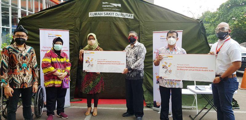 Berkolaborasi Atasi Pandemi COVID-19, Danamon Hadirkan Rumah Sakit Darurat